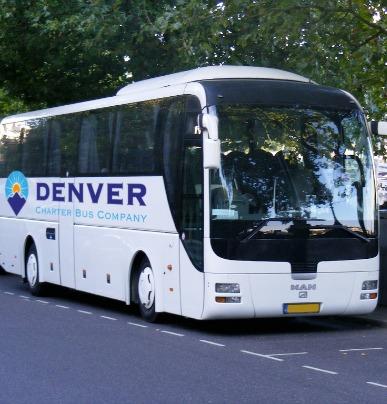 Charter Bus Minibus Rental Denver Charter Bus